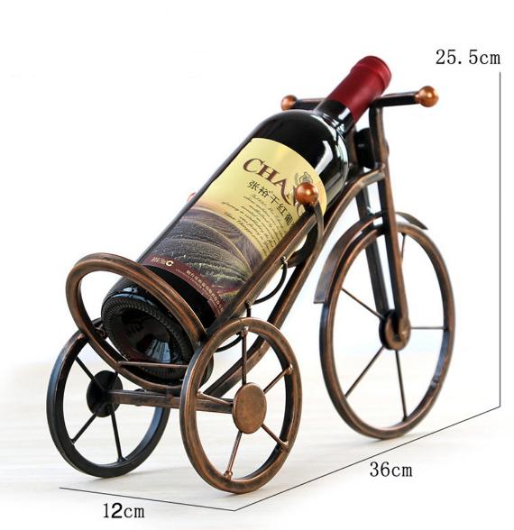 Giá đỡ chai rượu có kiểu dáng đa dạng