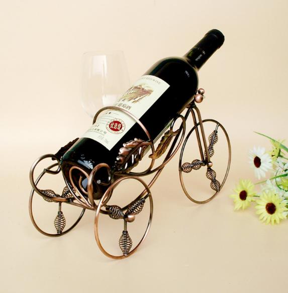 Giá đỡ rượu vang bằng đồng