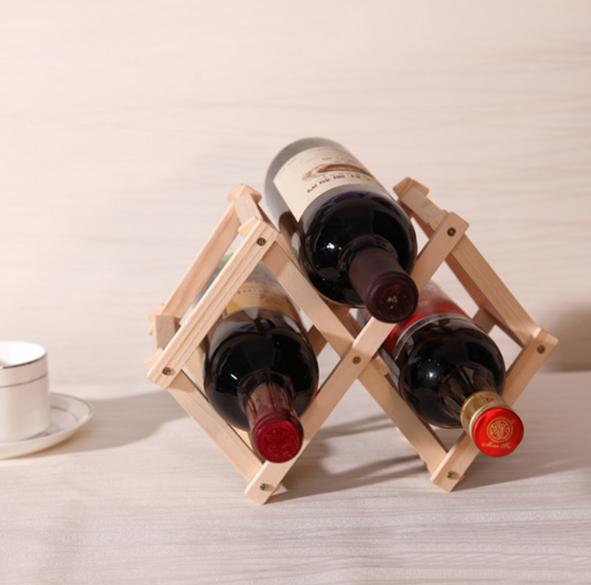Giá đỡ rượu bằng gỗ