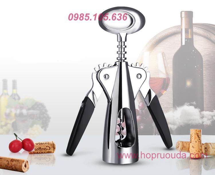 Bộ mở rượu vang 4 món chuyên nghiệp